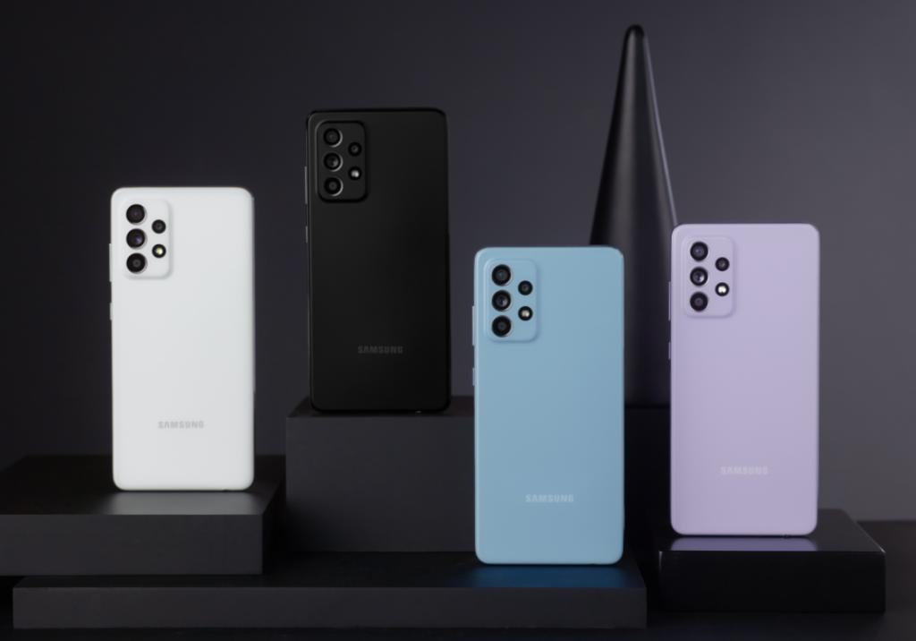 Samsung Galaxy A52 Color Options -1