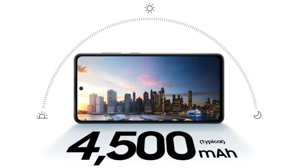 Samsung Galaxy A52s Battery Capacity