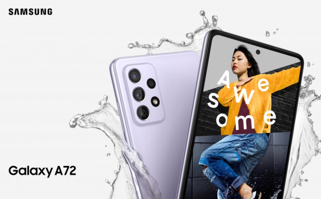 Samsung Galaxy A72 Render -1
