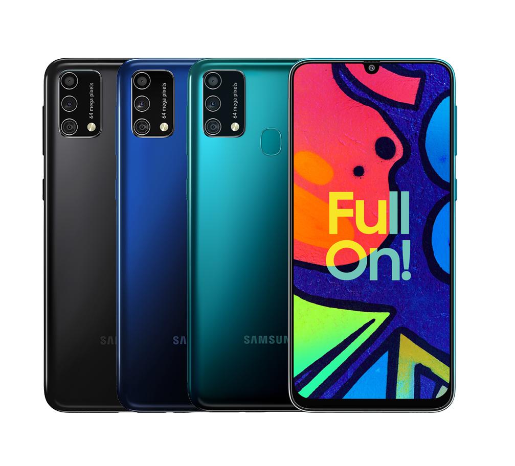 Samsung Galaxy F41 Render