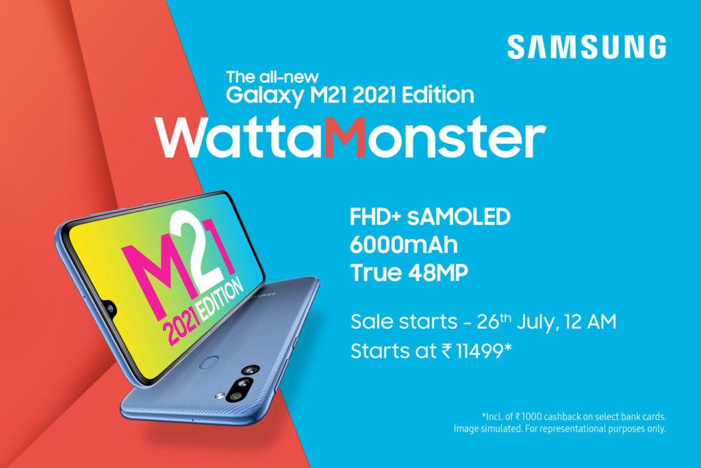 Samsung Galaxy M21 2021 Render -2
