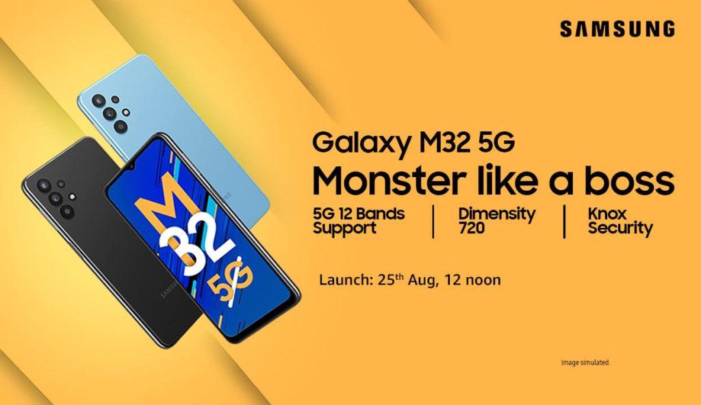 Samsung Galaxy M32 5G Launch Date