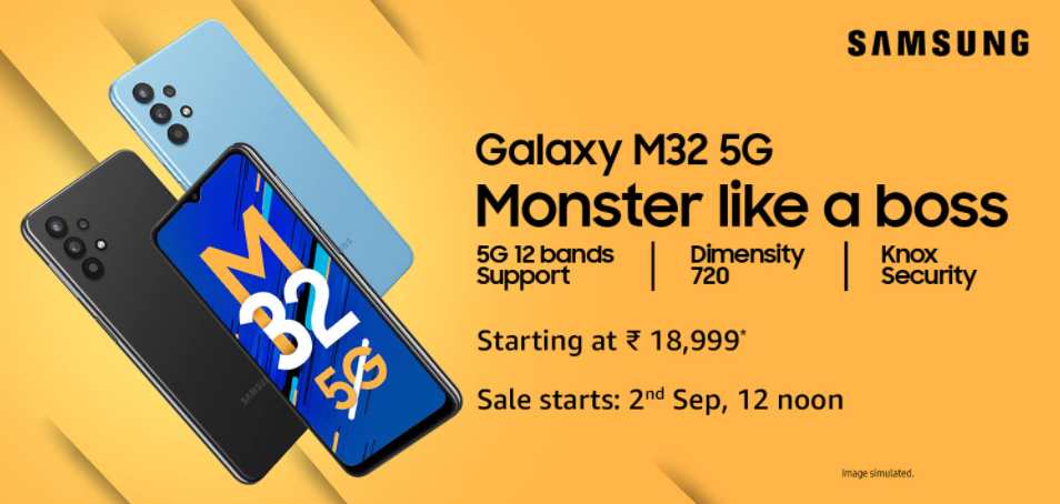 Samsung Galaxy M32 5G Promo Poster