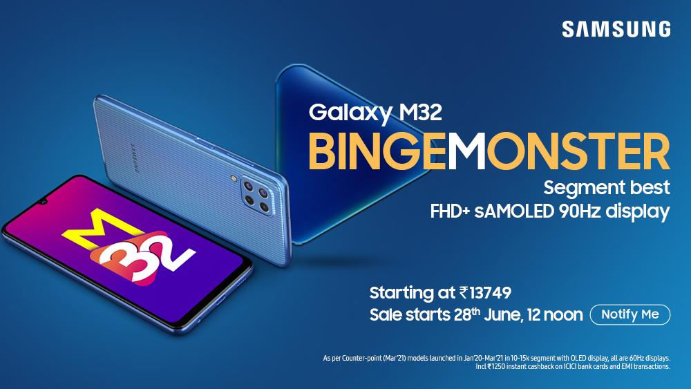 Samsung Galaxy M32 Specs