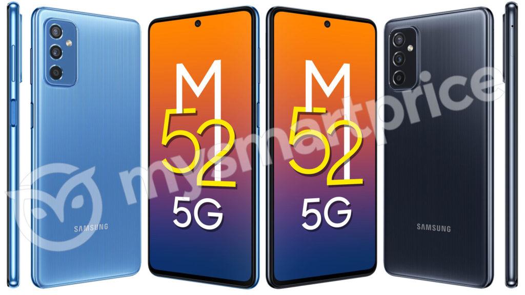 Samsung Galaxy M52 5G Leaked Render