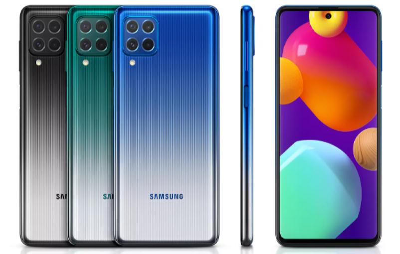 Samsung Galaxy M62 Render