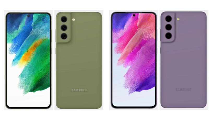 Samsung Galaxy S21 FE Render Leaked
