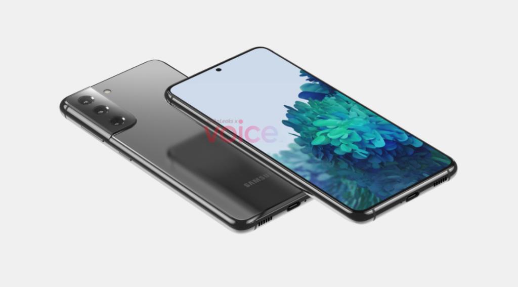 Samsung Galaxy S21 Leaked Render