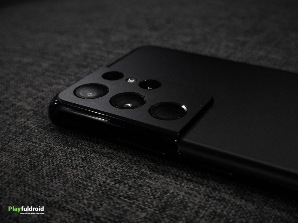 Samsung Galaxy S21 Ultra Contour Cut Camera Design -2