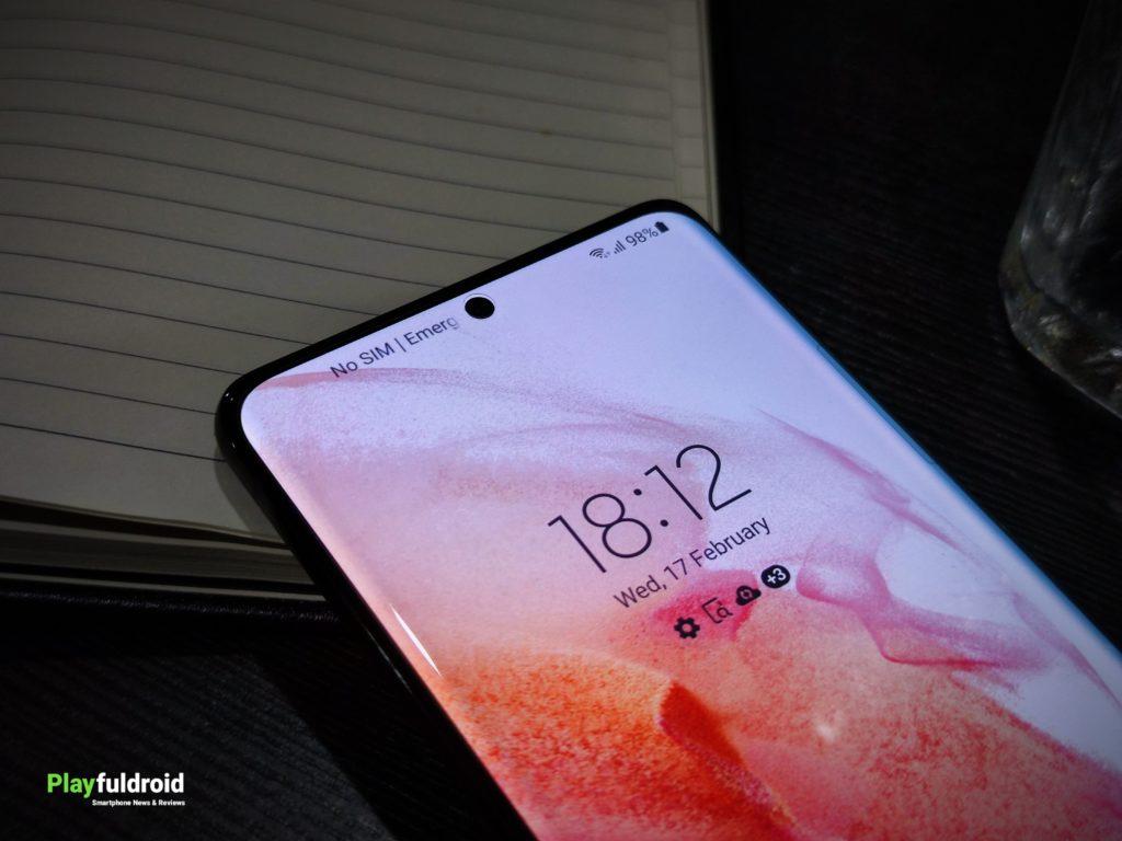 Samsung Galaxy S21 Ultra Infinity-O Design