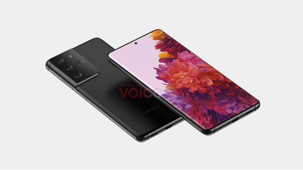 Samsung Galaxy S21 Ultra Leaked Render