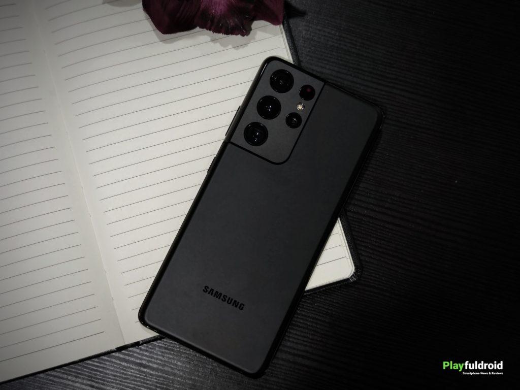 Samsung Galaxy S21 Ultra Rear Design -2