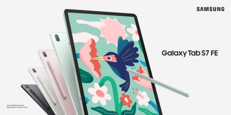 Samsung Galaxy Tab S7 FE Render -1