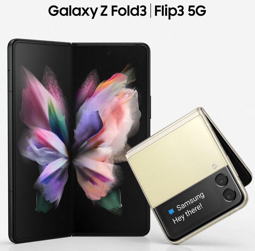 Samsung Galaxy Z Fold3 & Z Flip3 Leaked Render -1