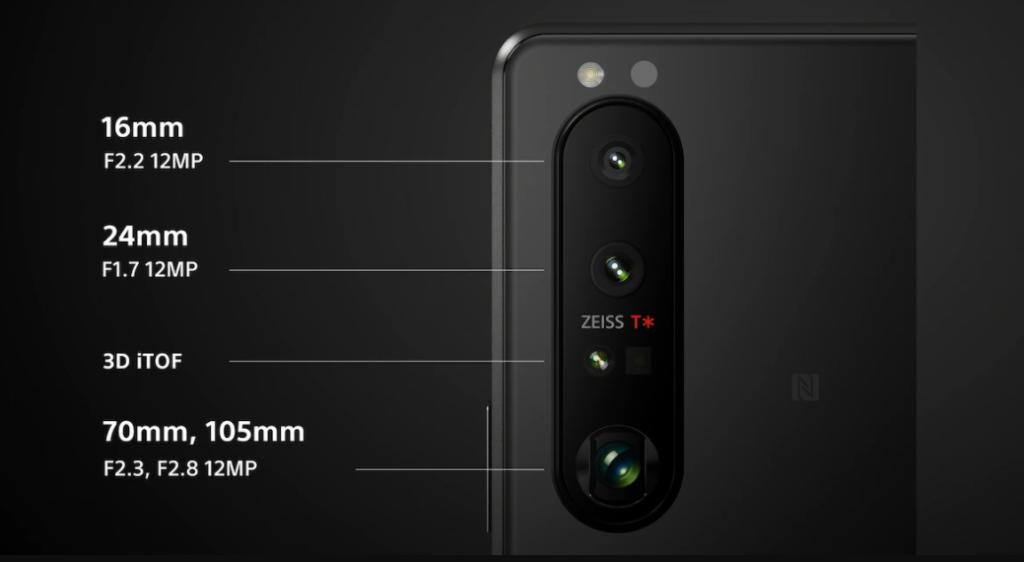 Sony Xperia 1 III Camera Specs