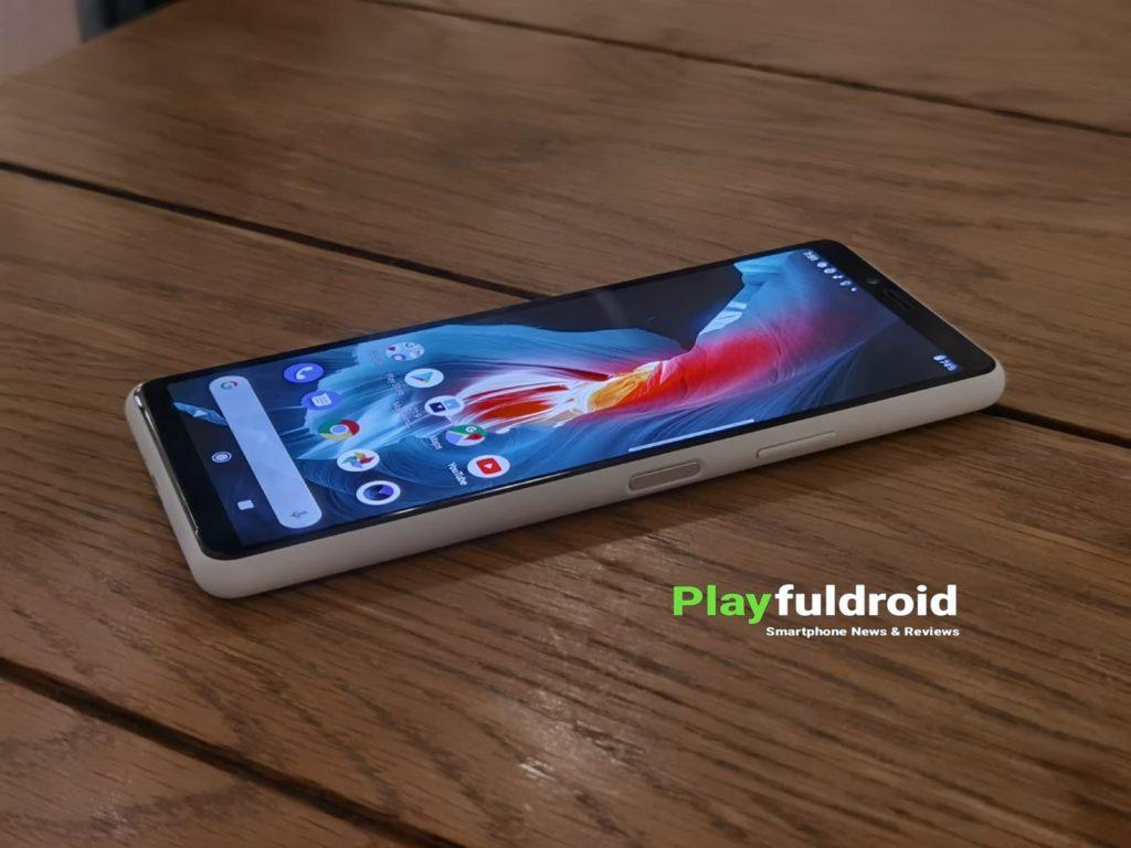 Sony Xperia 10 II Side Profile