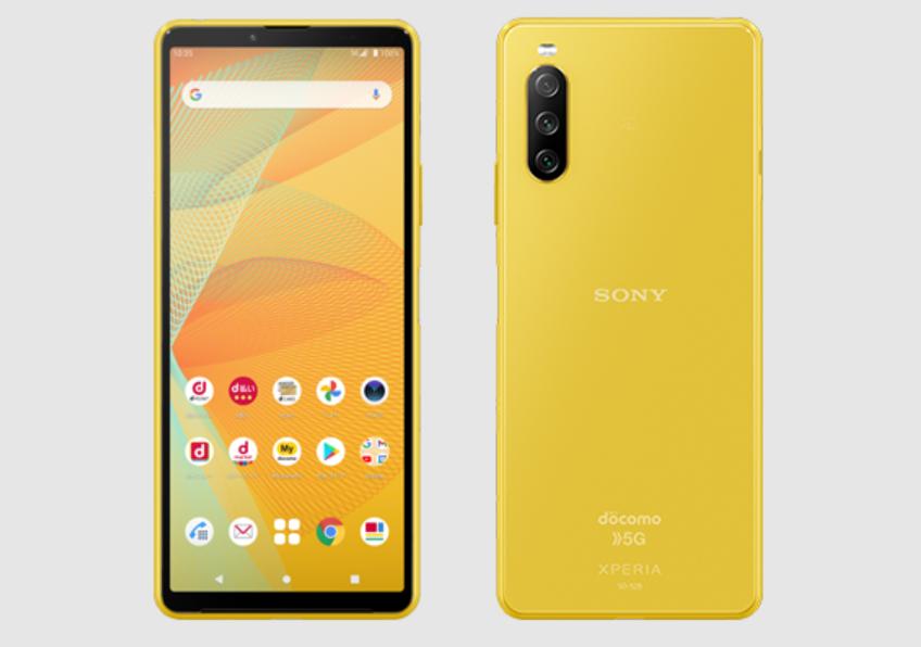 Sony Xperia 10 III Yellow Colorway