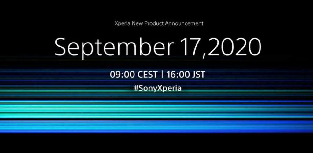 Sony Xperia 5 II Launch Date