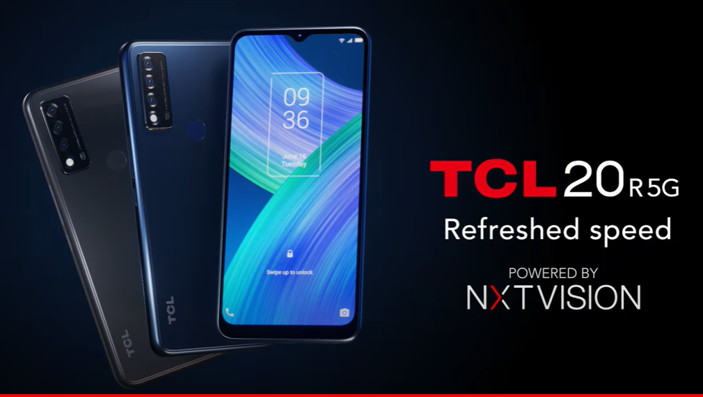TCL 20 R 5G Promo Poster