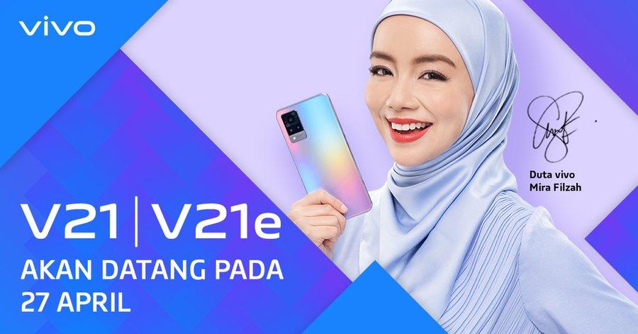 VIvo V21 series launch date