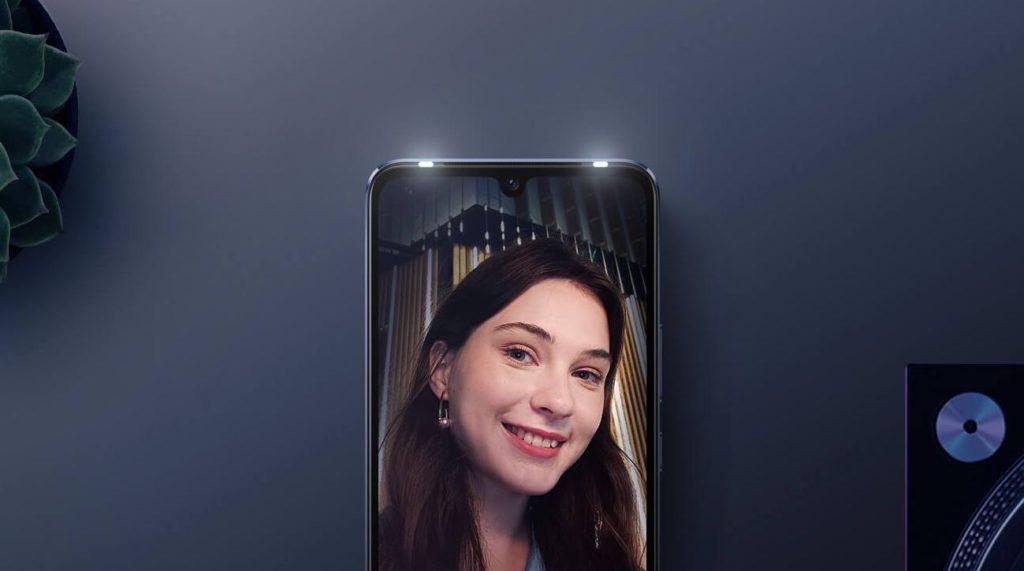 Vivo V21 series front flash