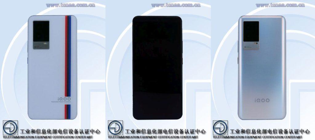 TENAA images of the iQOO V2136A
