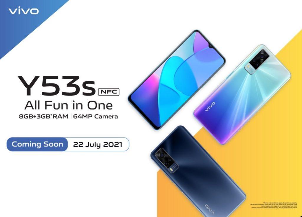 Vivo Y53s NFC Launch Date