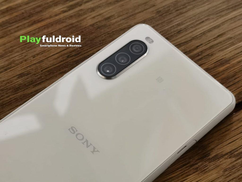 Sony Xperia 10 II Camera Design