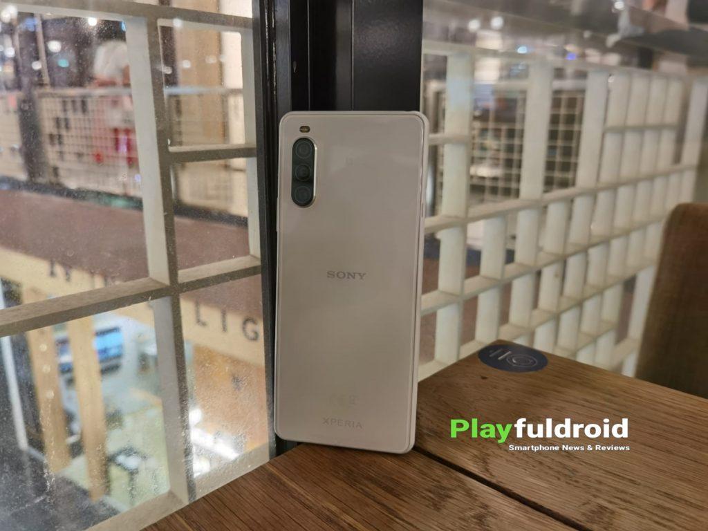 Sony Xperia 10 II Rear Design