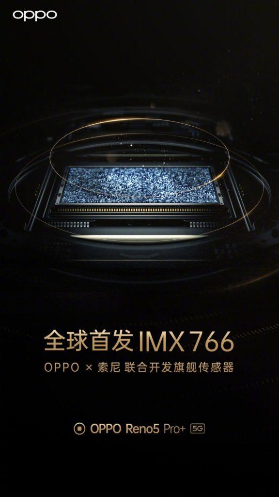 Sony IMX766 on Reno5 Pro+