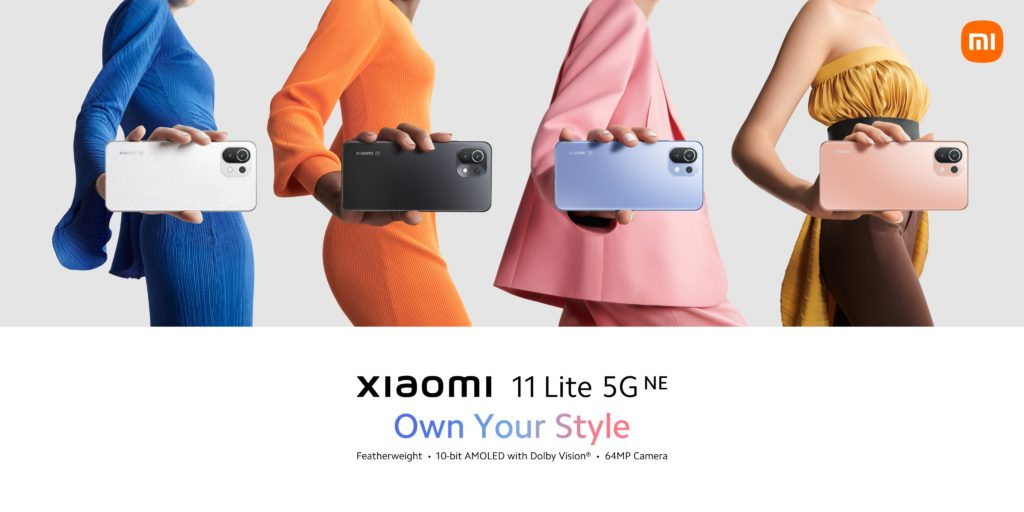 Xiaomi 11 Lite 5G NE Render -1