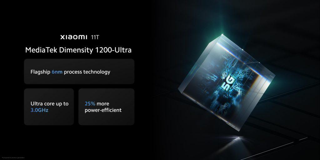Xiaomi 11T MediaTek Dimensity 1200-Ultra