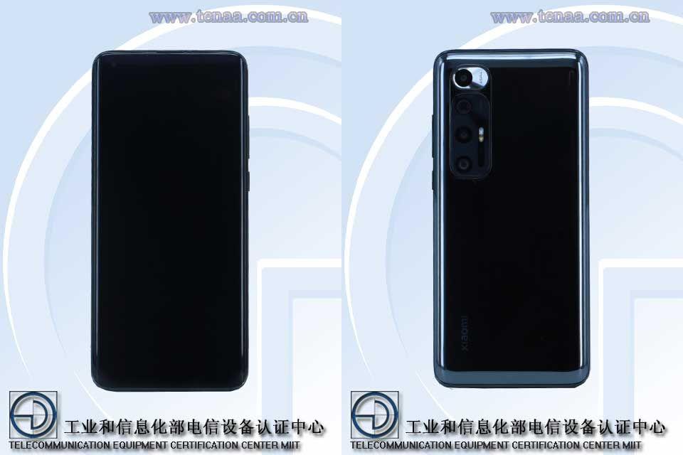Xiaomi Mi 10 special edition TENAA images
