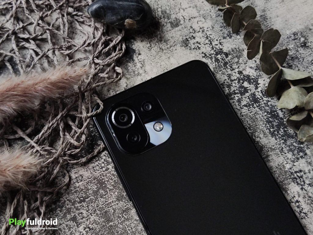 Xiaomi Mi 11 Lite 4G Rear Camera Design