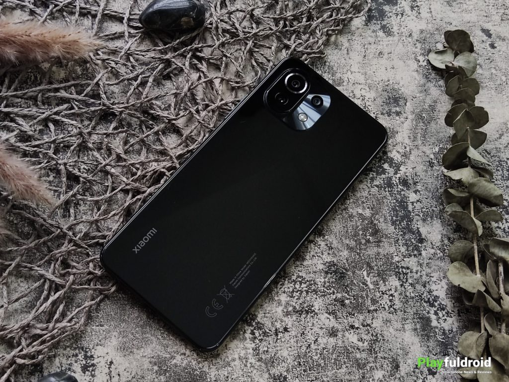 Xiaomi Mi 11 Lite 4G Rear Design