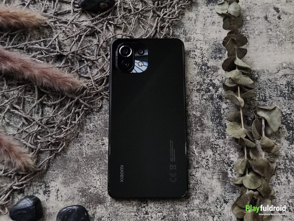 Xiaomi Mi 11 Lite 4G Rear Design -2