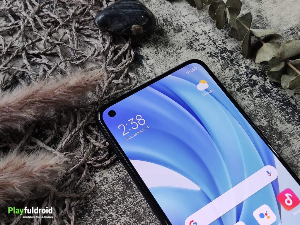 Xiaomi Mi 11 Lite Front Design -3