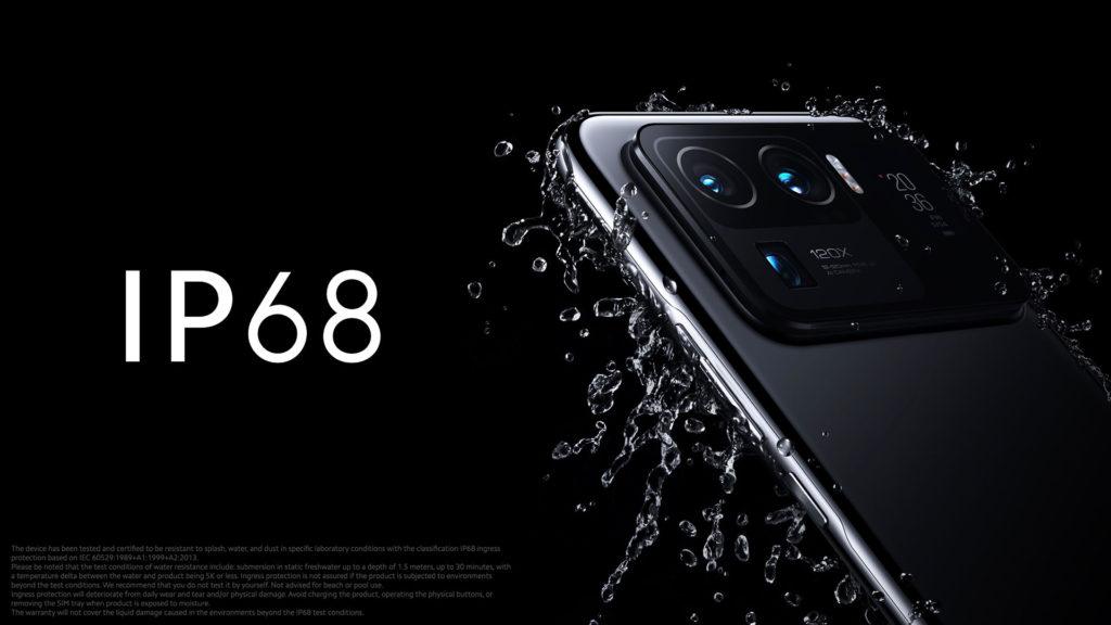 Xiaomi Mi 11 Ultra IP68