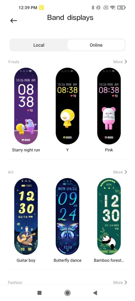 Xiaomi Mi Band 6 Watch Faces -3