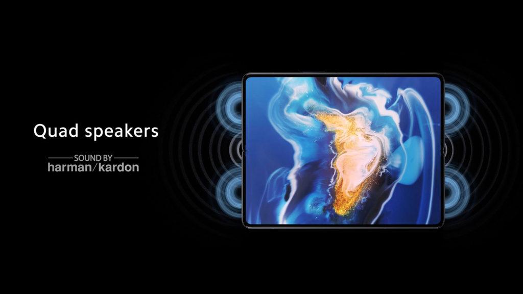 Xiaomi Mi Mix Fold Harman Kardon Quad Speakers
