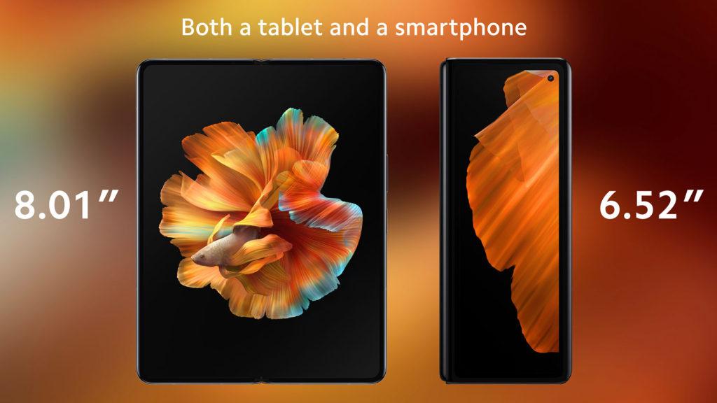 Xiaomi Mi Mix Fold Inner Display