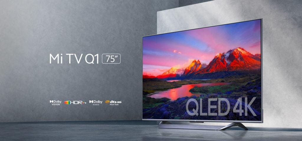 Xiaomi Mi TV Q1 75-inches