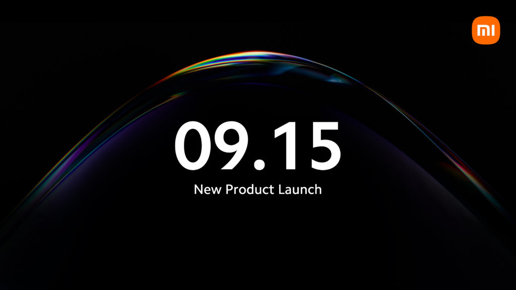 Xiaomi September 15th Launch Event
