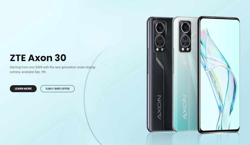 ZTE Axon 30 Global Launch -1