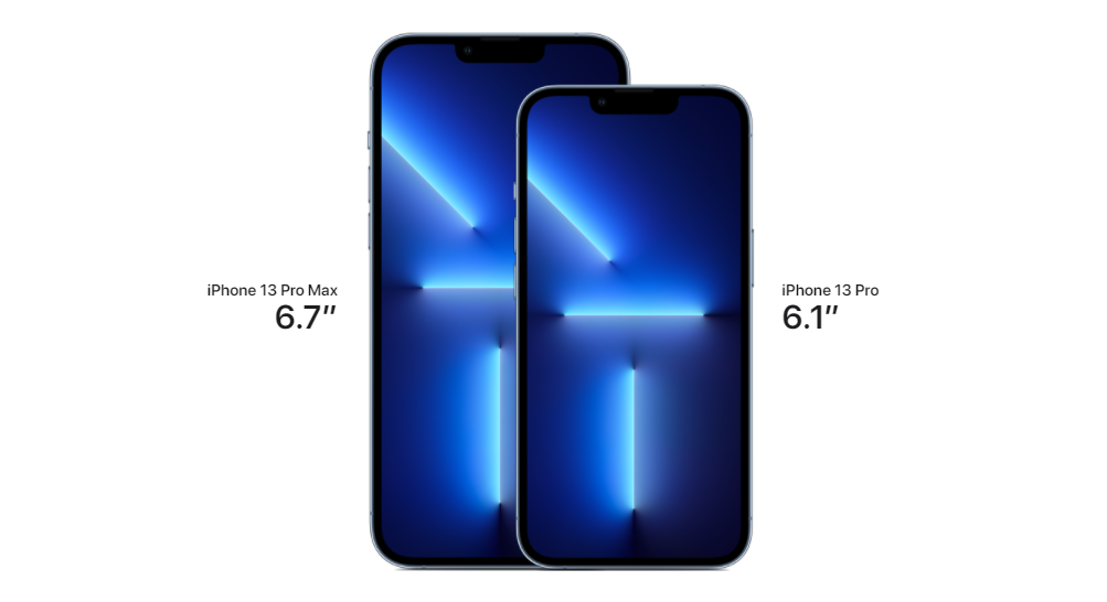 iPhone 13 Pro & Pro Max Size Comparison