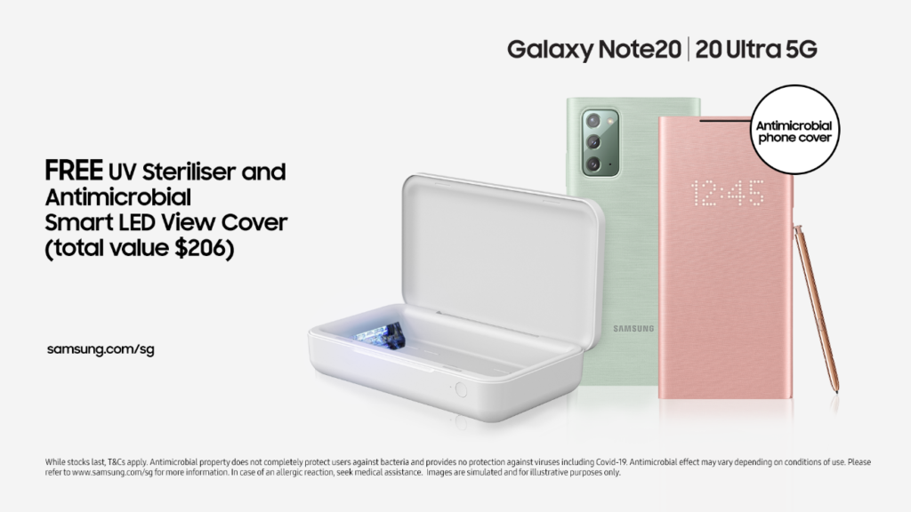 Samsung Galaxy Note20 Series Free Gifts Bundle