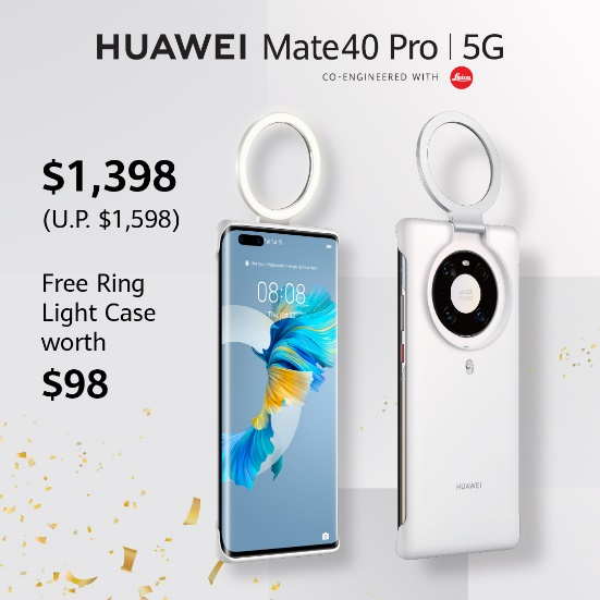Huawei Mate 40 Pro 5G Promotion