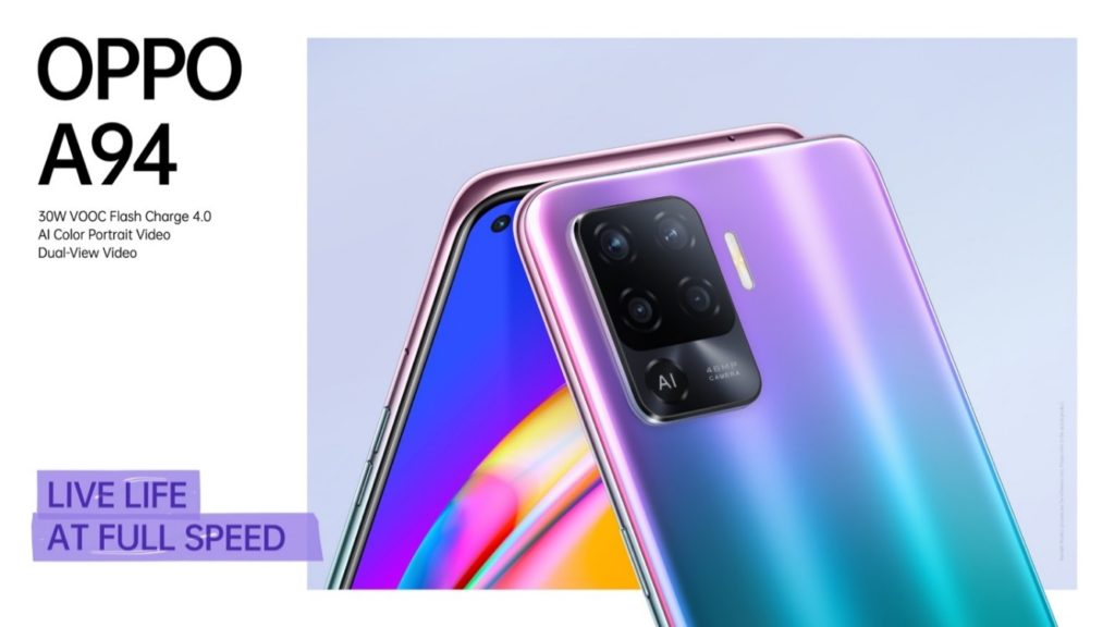 OPPO A94 Promo Poster